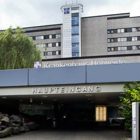 The academic hospital Cologne Merheim-Holweide - Germany
