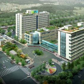 University hospital soon Chun Hyang (Soon Chun Hyang Hospital) in bucheon - South Korea