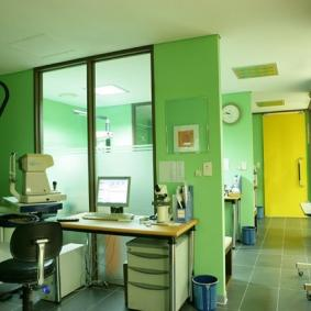 The ophthalmologic clinic